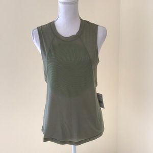 NWT! Free People Small faded sage athletic tee